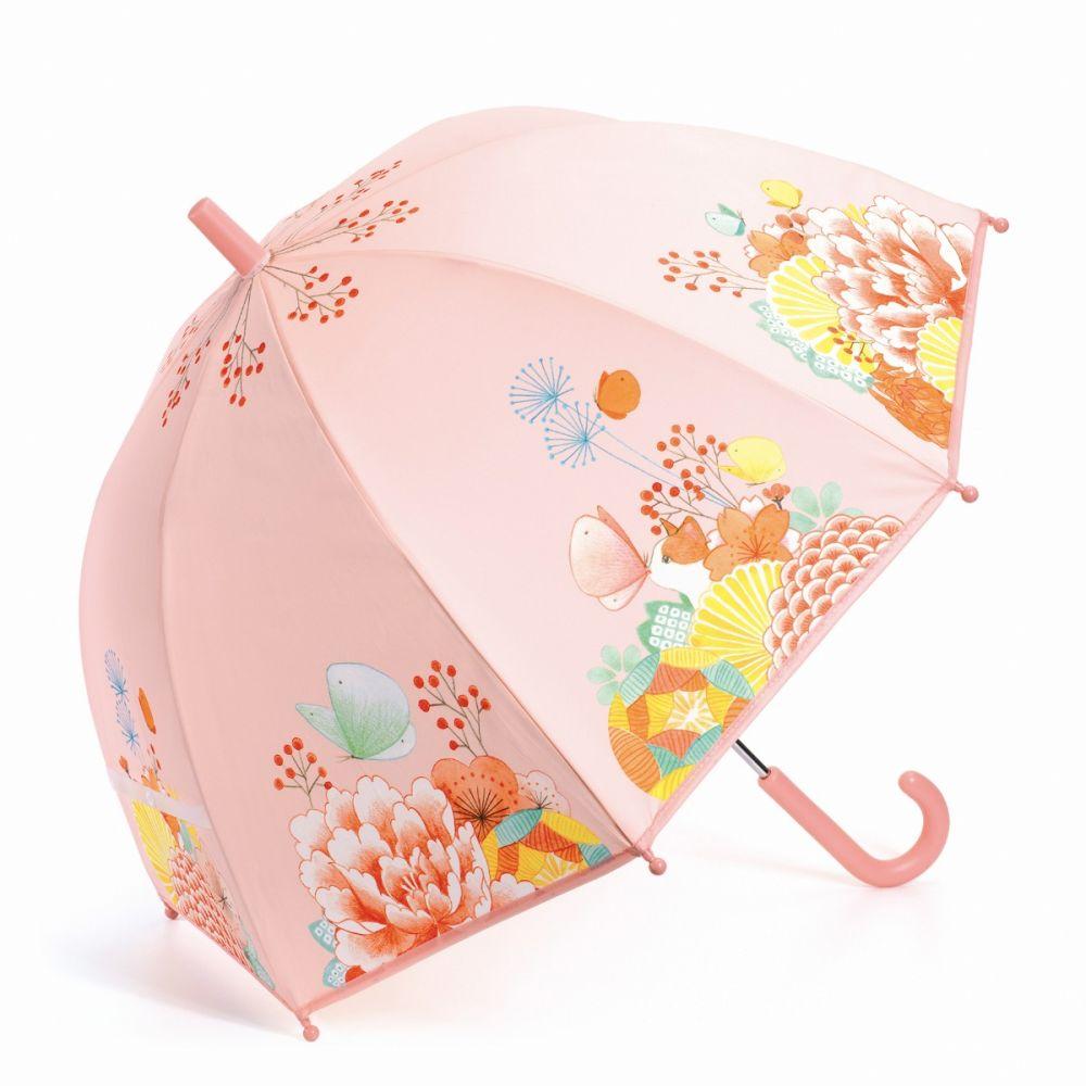 Djeco blomsterhaven paraply til børn