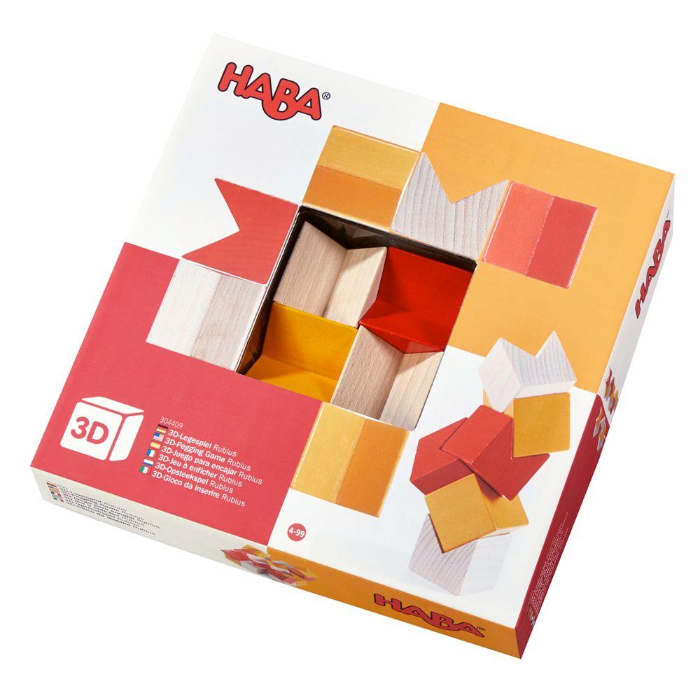 HABA 3D klodser Rubius