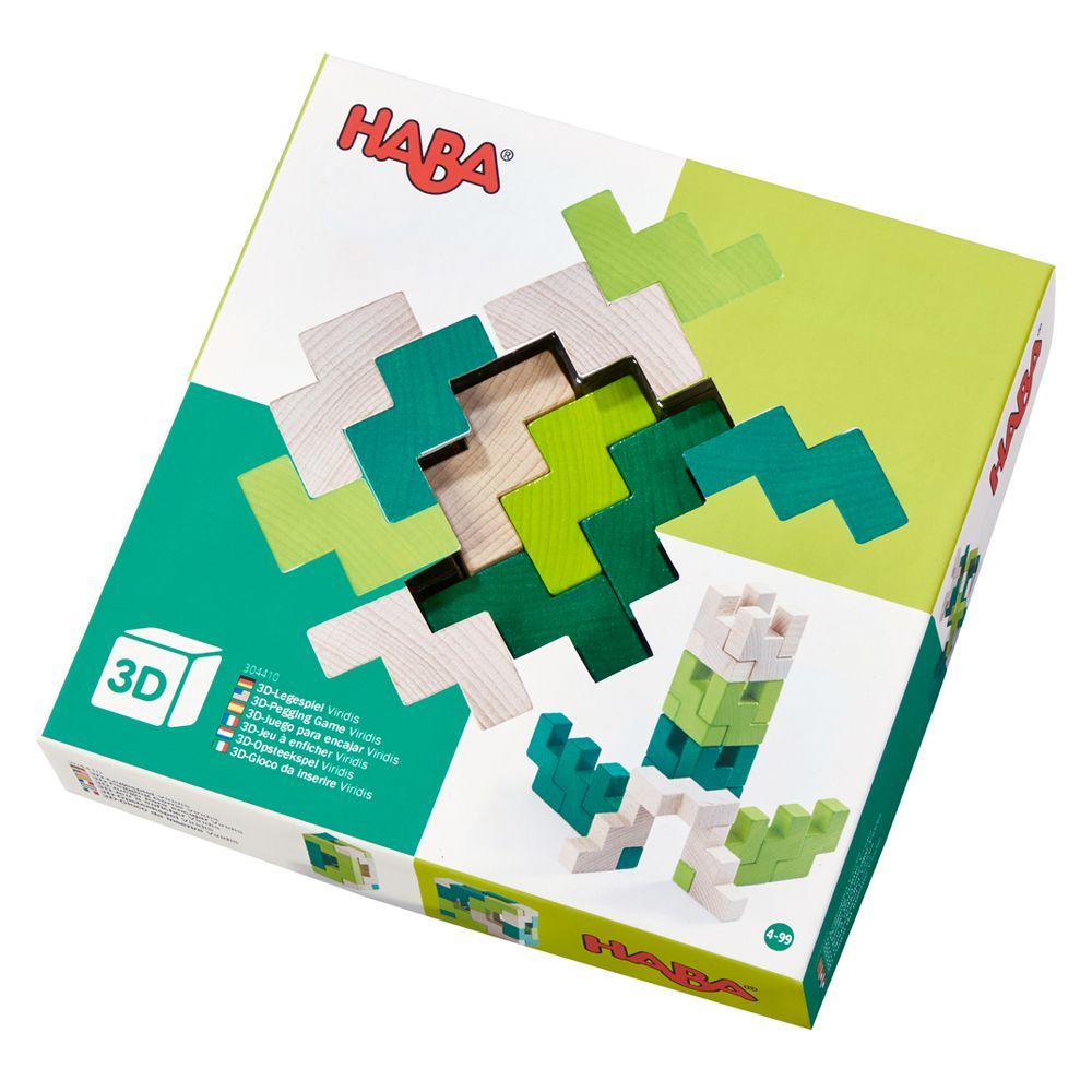 HABA 3D klodser i træ 304410