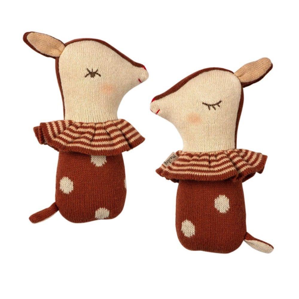 Maileg Bambi Rangle - Rusty