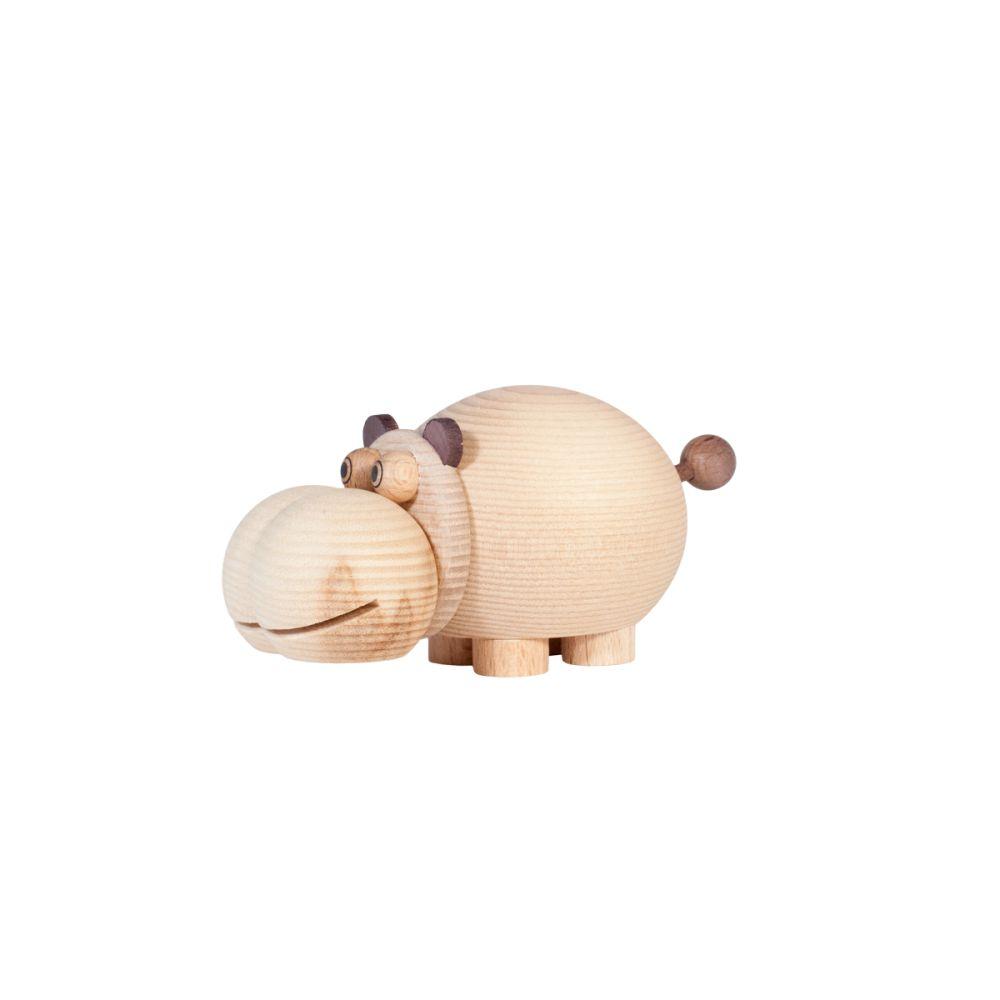 Hippo mini box i træ