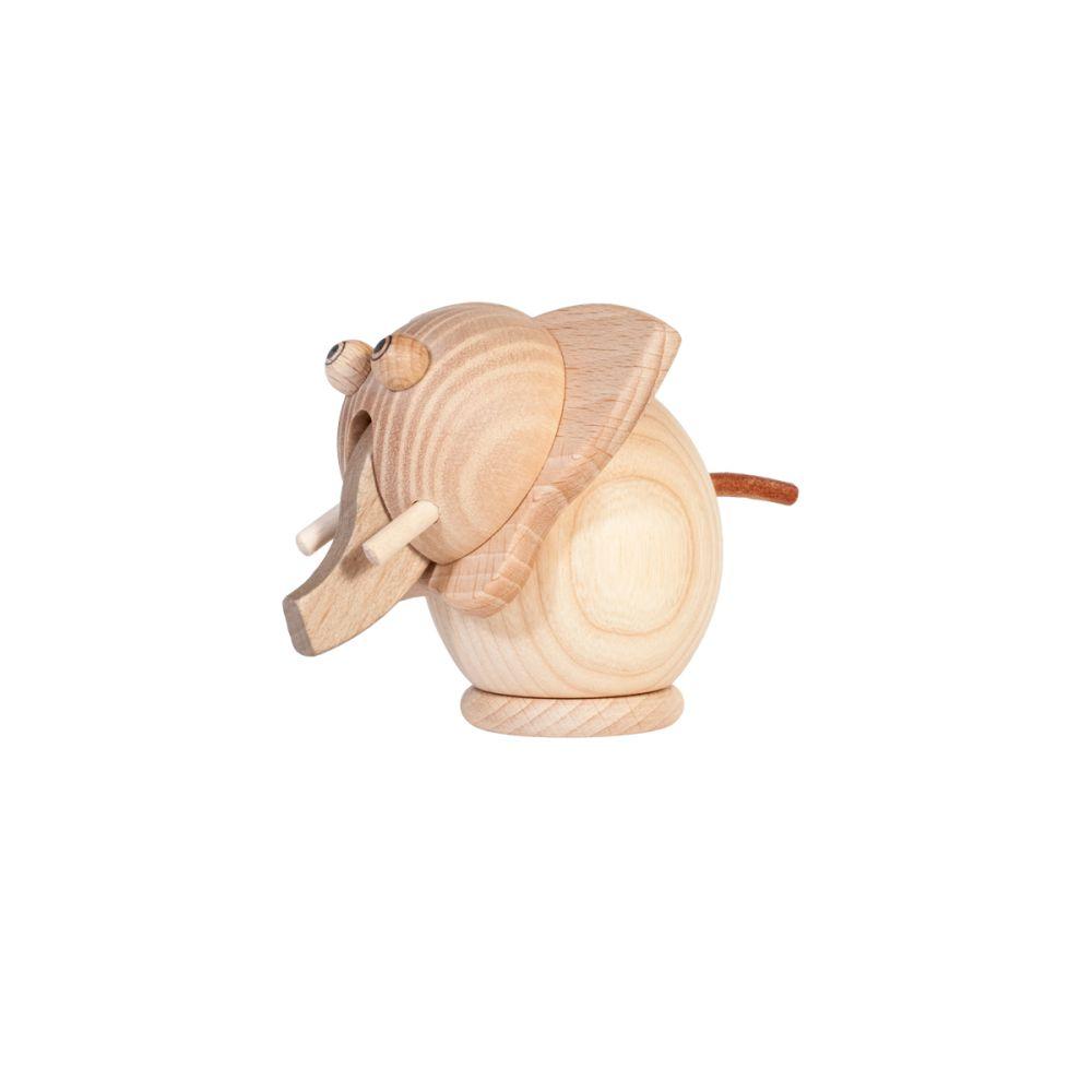 elefant tandfe i træ
