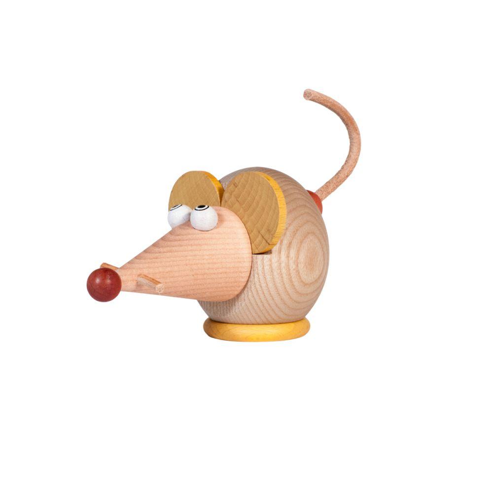 blyantspidser mus bejdset