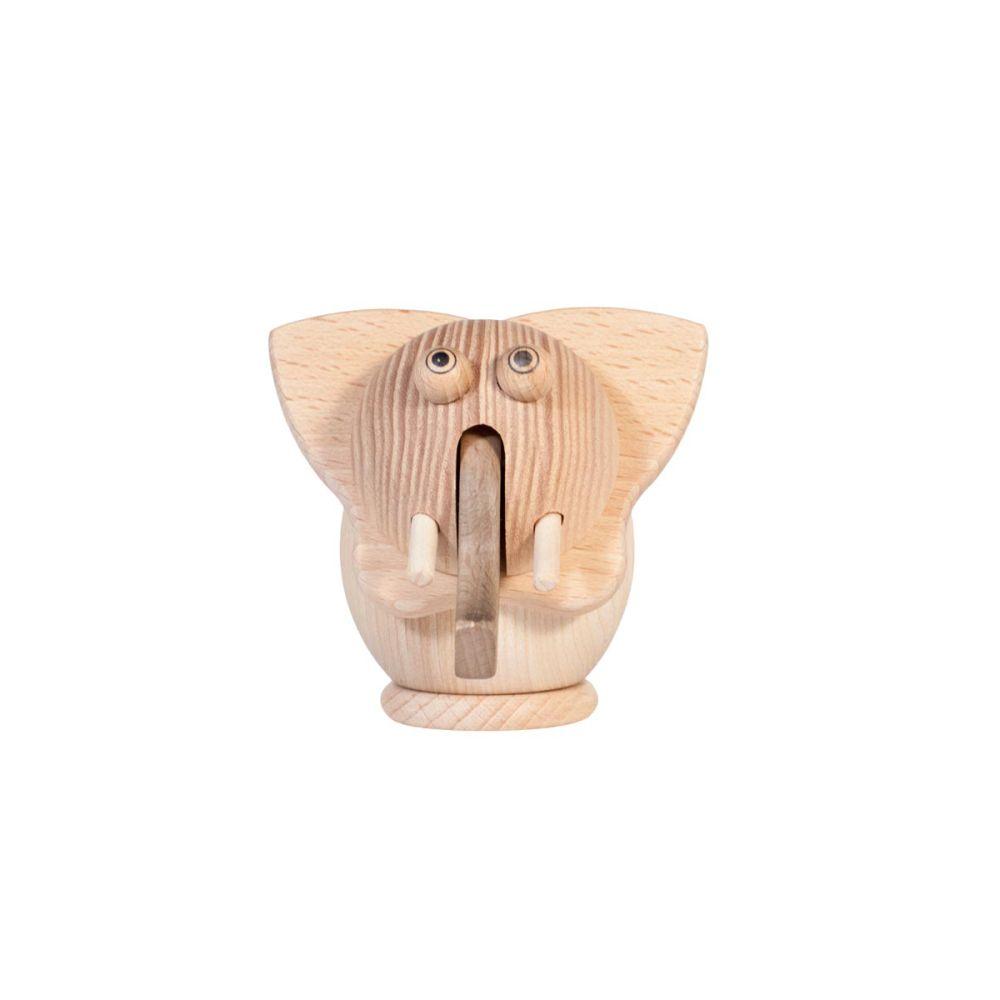 blyantspidser i træ elefant
