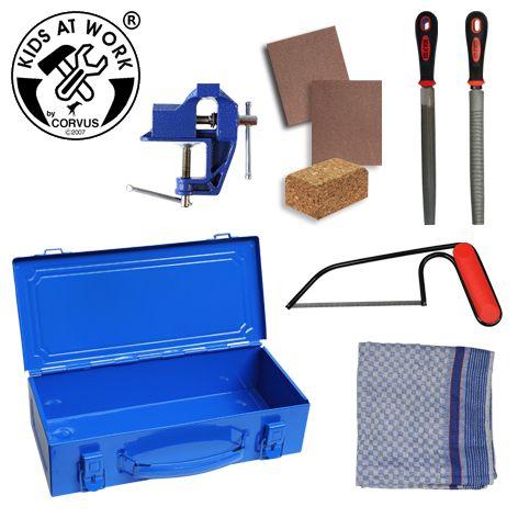Værktøjsboks blå