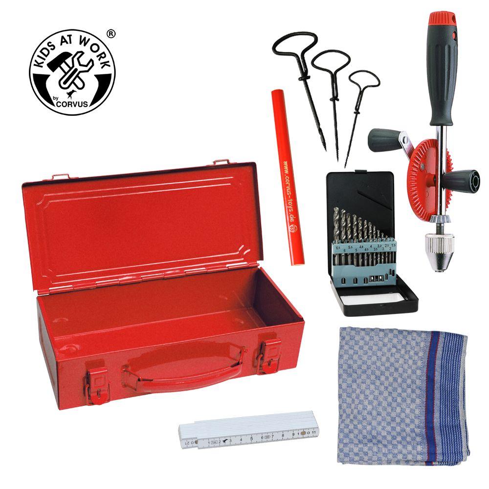 Værktøjsboks rød