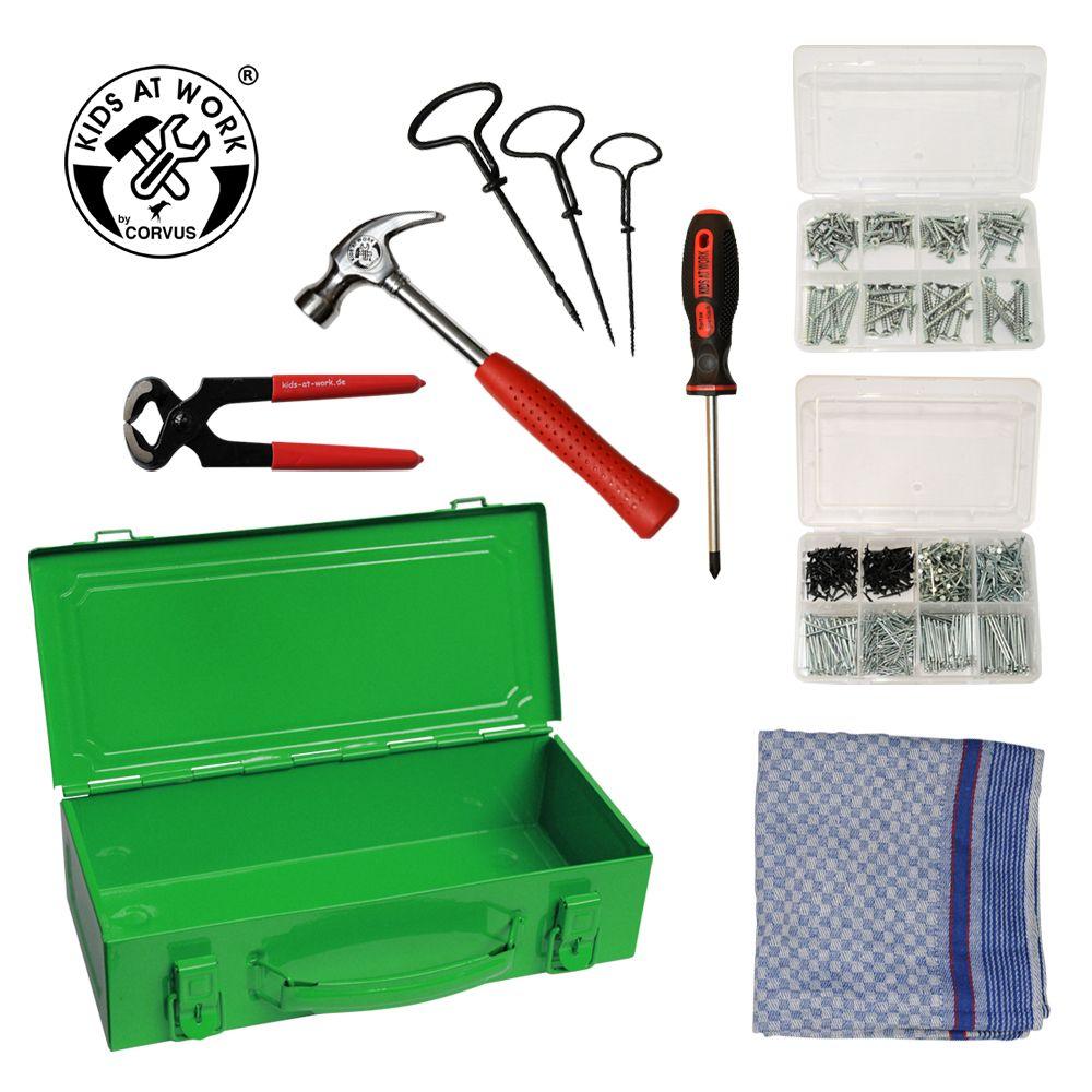 Værktøjsboks grøn