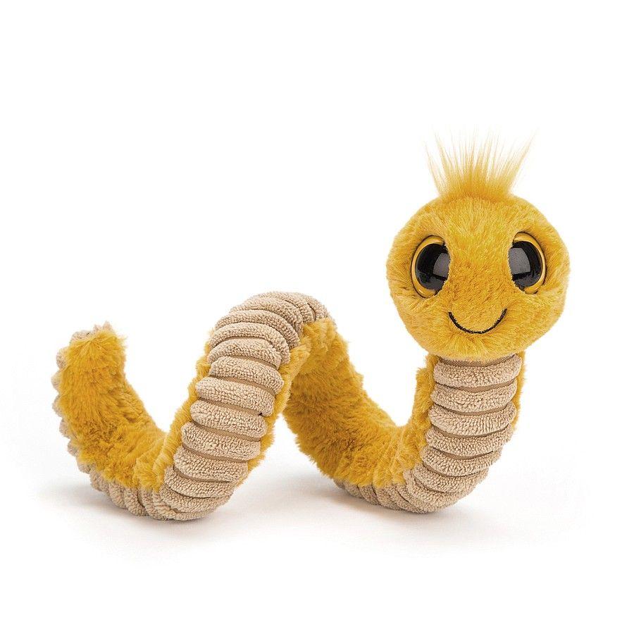 Jelleycat orm i gul