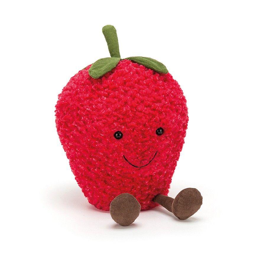 amuseable jordbær bamse