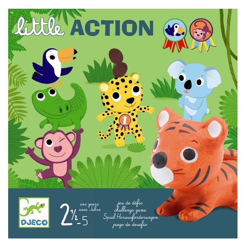 action spil for de små fra djeco