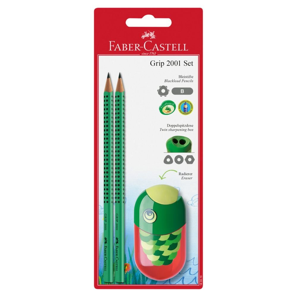 Faber-Castell 2 Grip blyanter ørn spidser