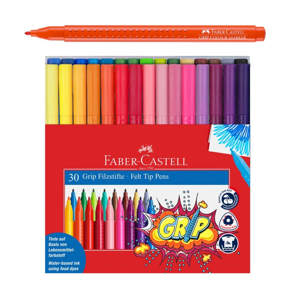 Faber-Castell Grip tusser 30