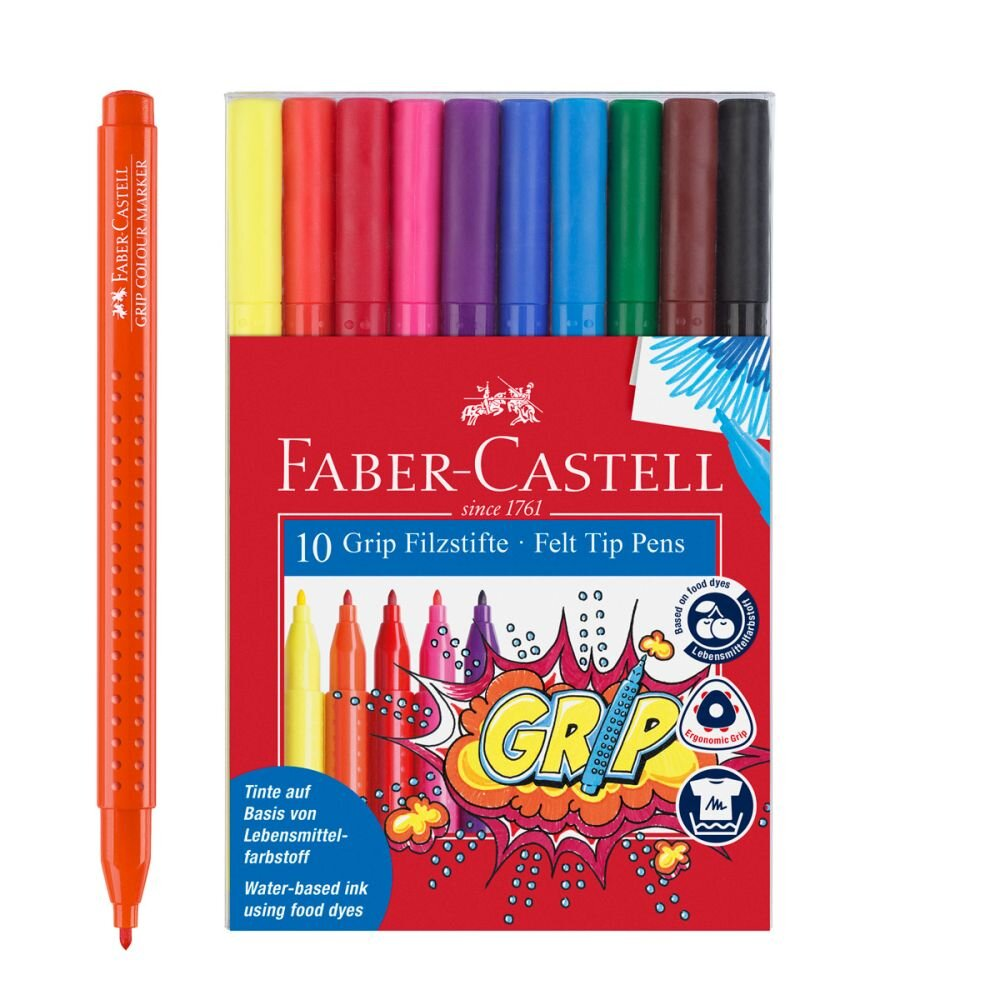 Faber-Castell Grip tusser 10