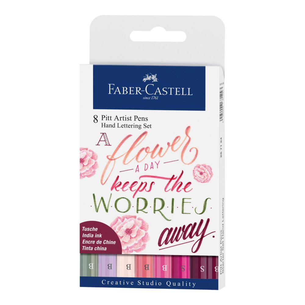Faber-Castell Hand Lettering Pitt artist pen 8