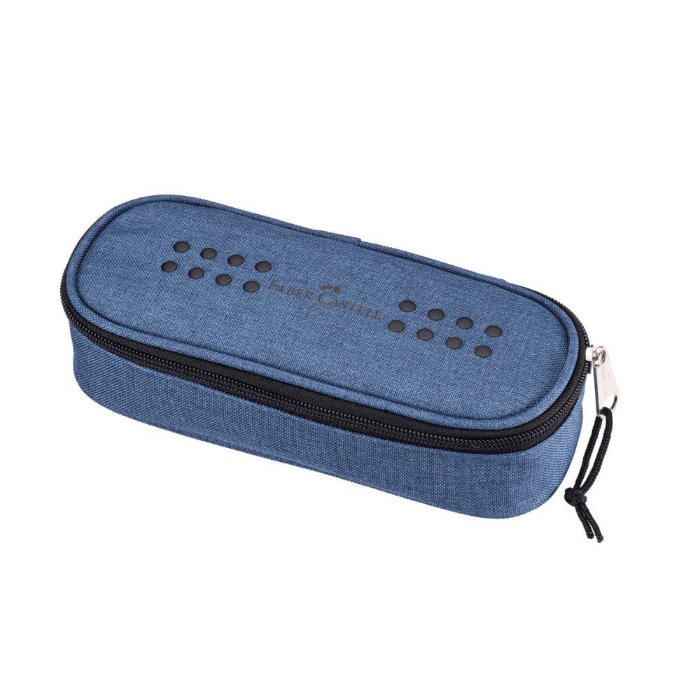 Faber-Castell Penalhus Grip Nistret jeans blå