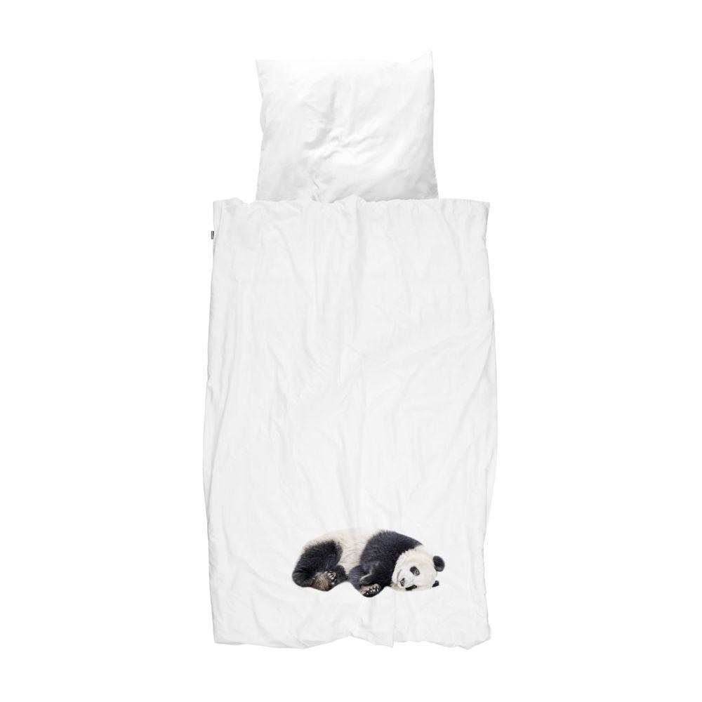snurk sengetøj med panda
