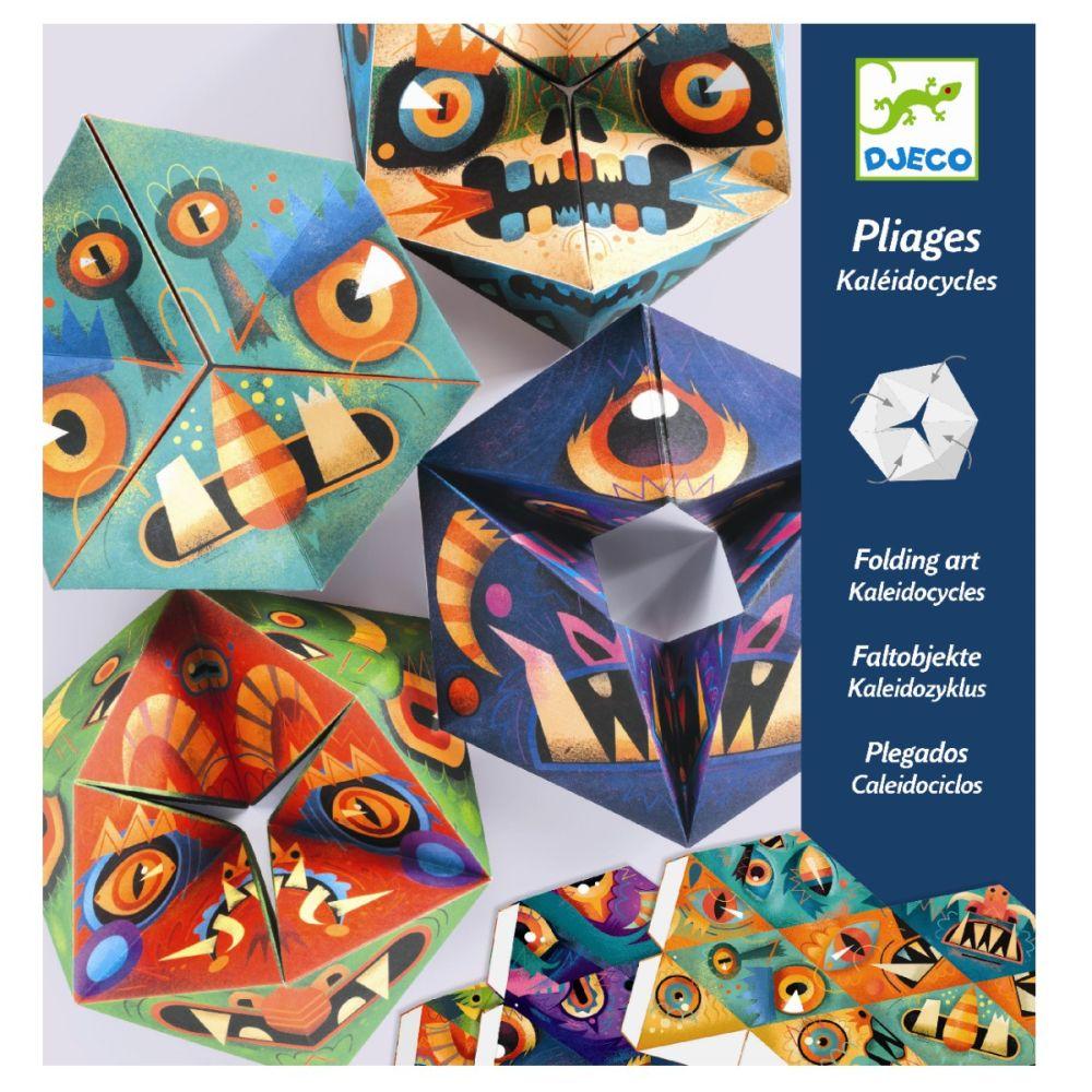 Djeco origami kalejdoskop monster
