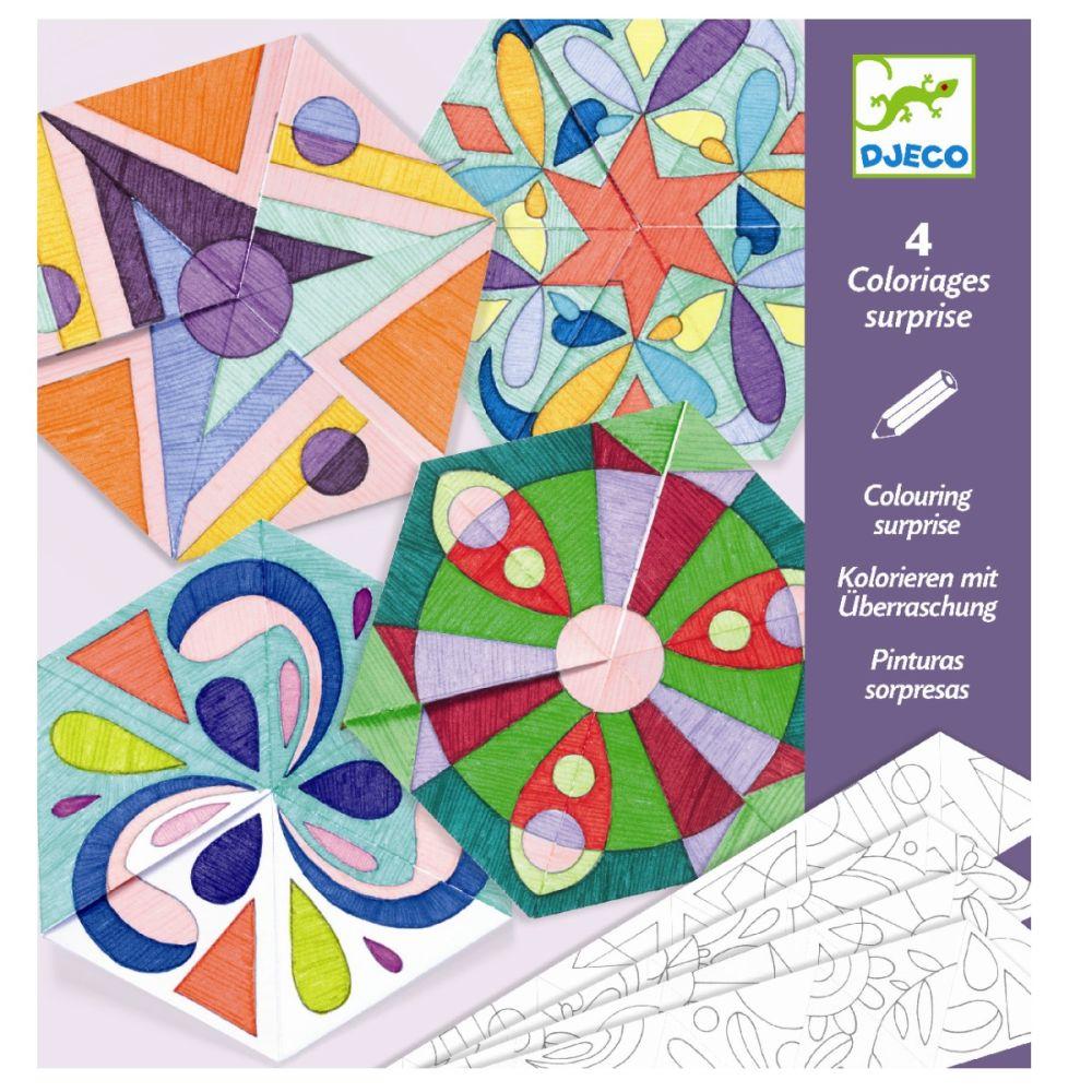 Djeco origami mandala-rosetter