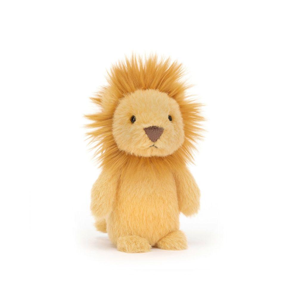 jellycat fluffy løve mini