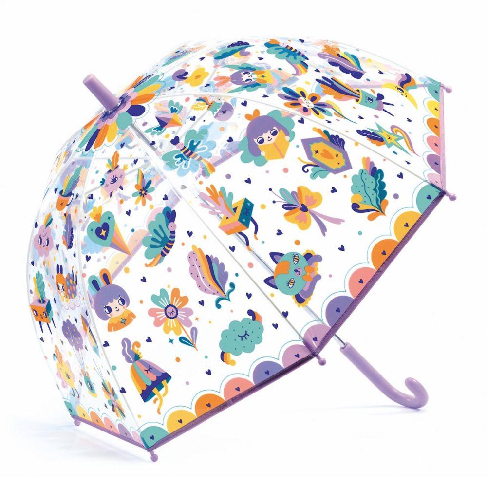 Djeco paraply med retro figur