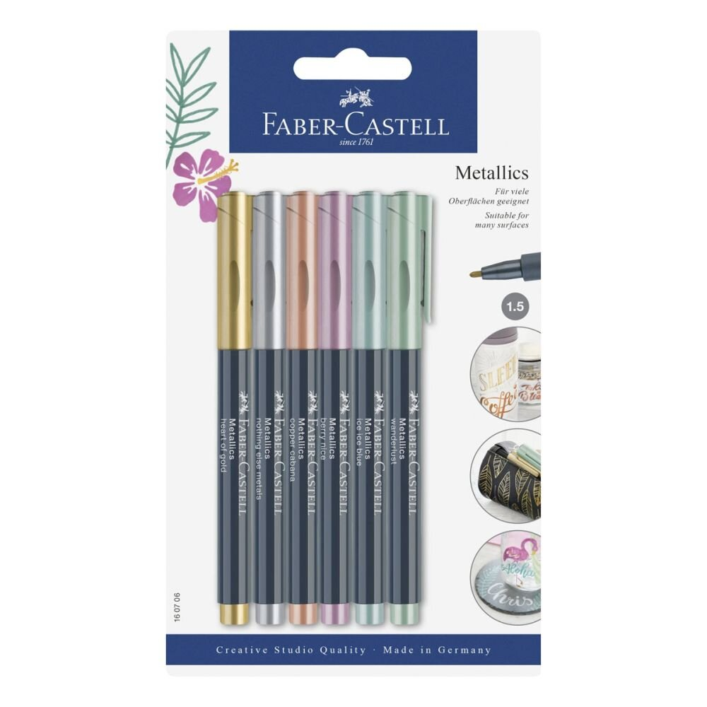 faber-castell metallic markers