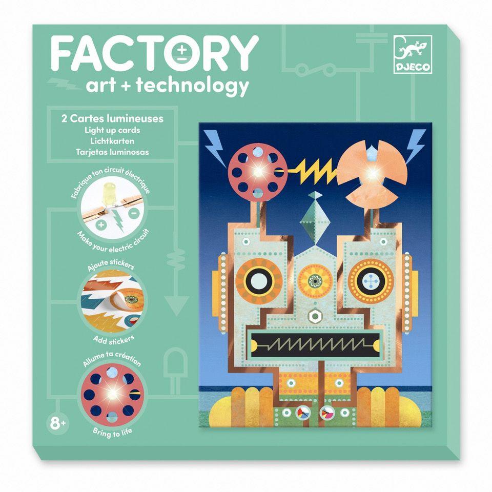 Djeco Factory Robotter