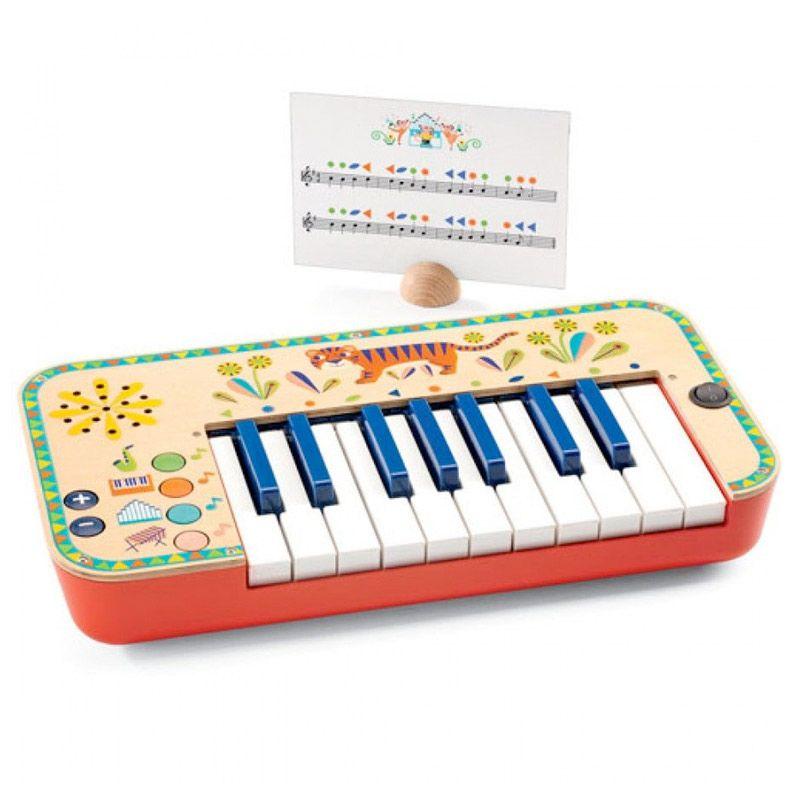 Djeco elektronisk synthesizer