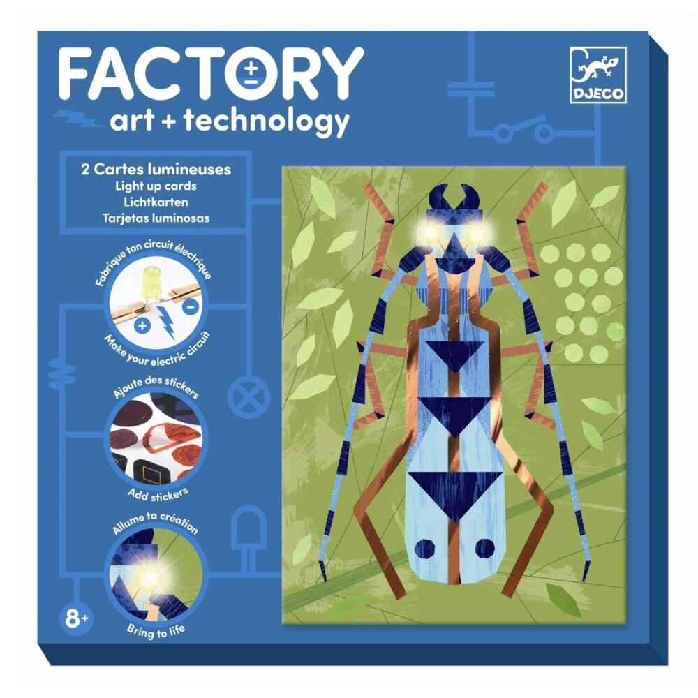Djeco Factory Insekter