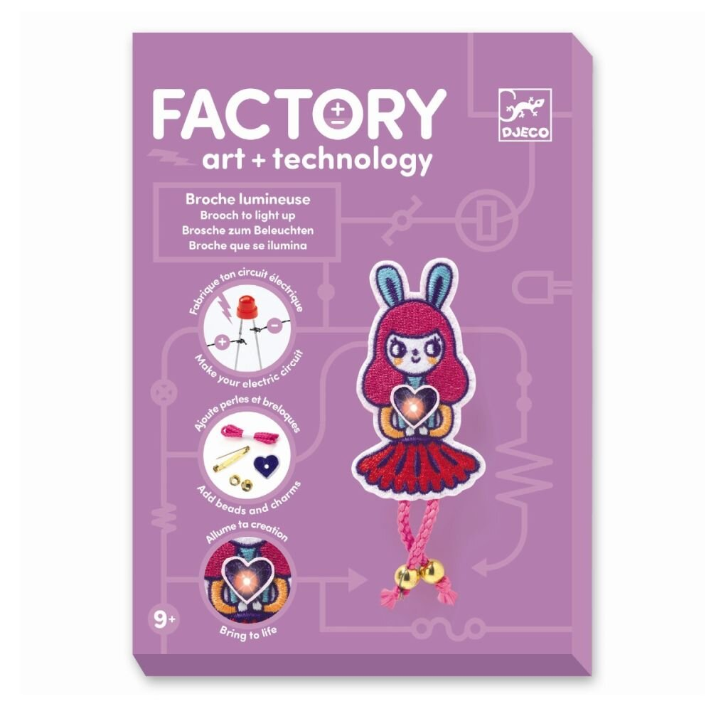 Djeco Factory Broche