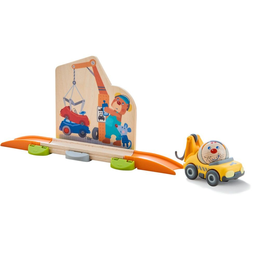 HABA Rollerby Kuglebane tilbehør - Skraldebil