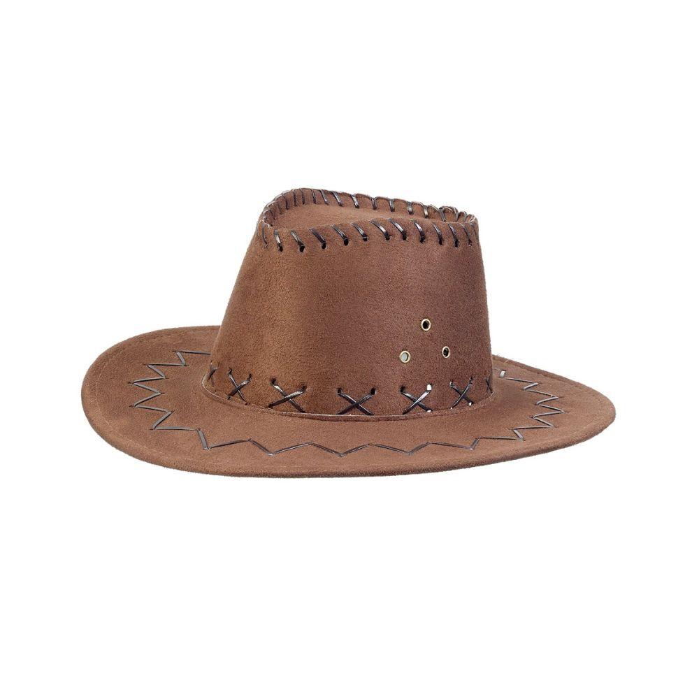 Cowboyhat Alec mørkebrun