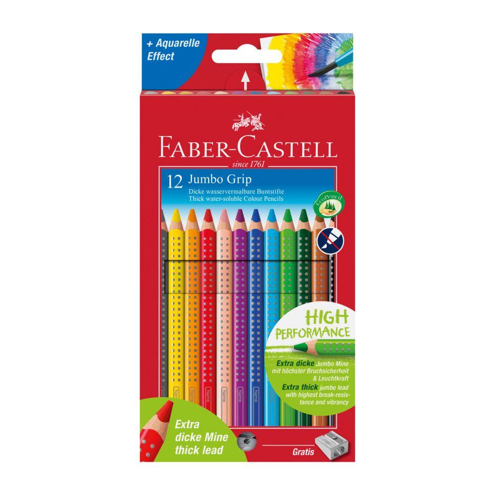 faber castell jumbo farveblyanter 12 stk. olisan.dk