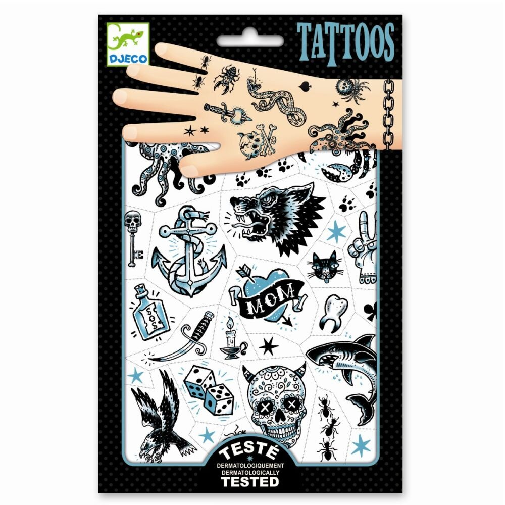 Tattoos til børn dark side