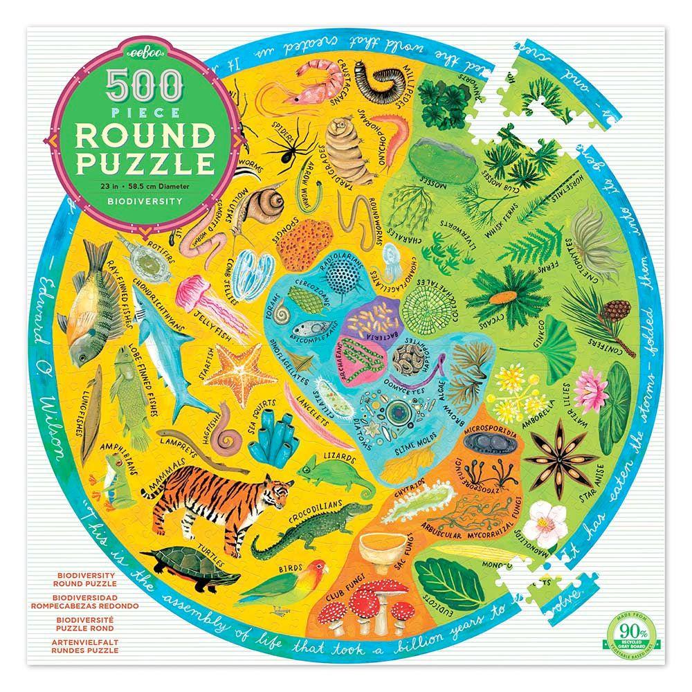 Eeboo Puslespil 500 Biodiversitet