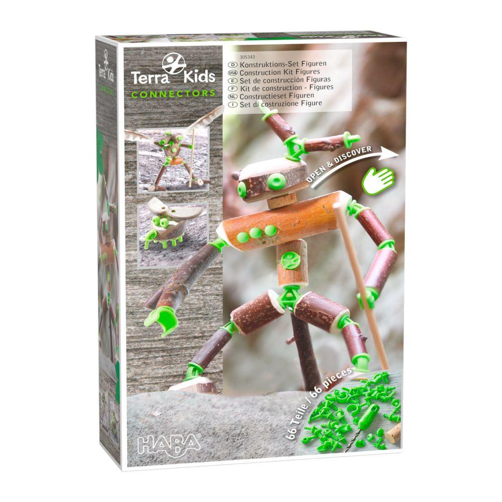 Terra Kids Connectors Figur sæt 66 dele