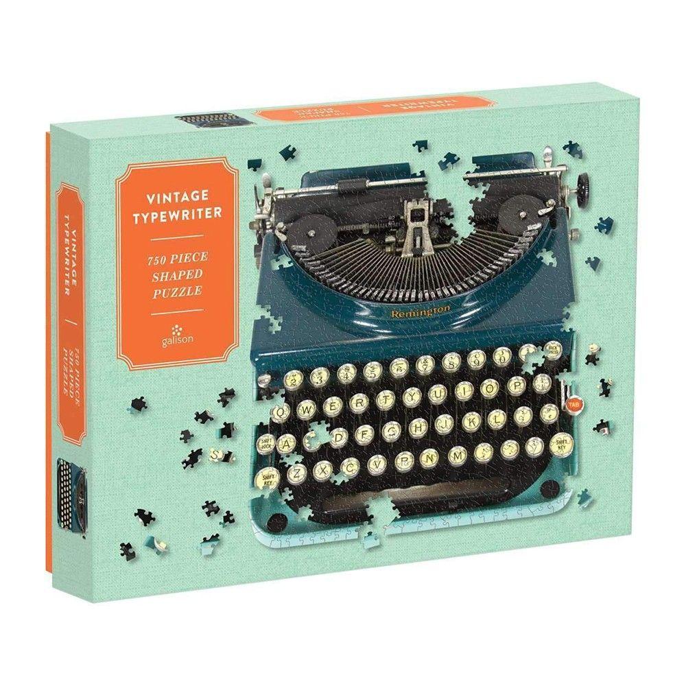 Puslespil 750 Vintage skrivemaskine