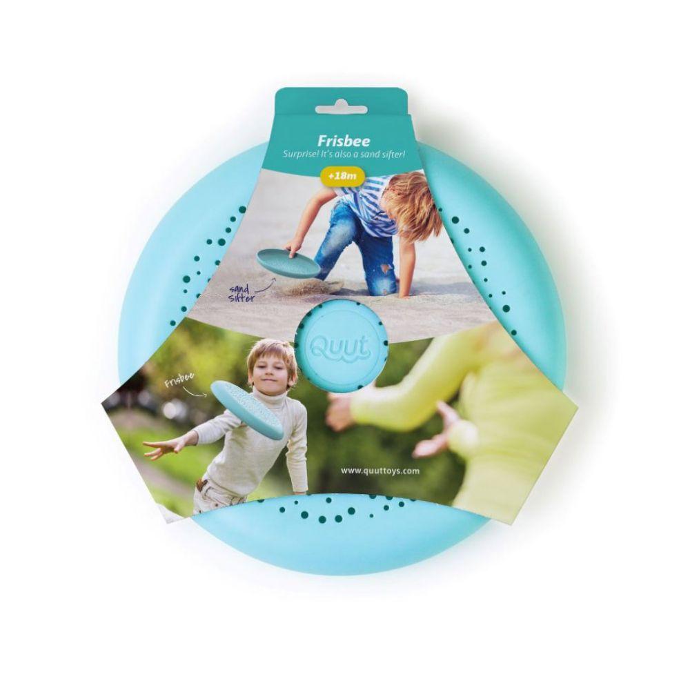 Quut Frisbee og sand si