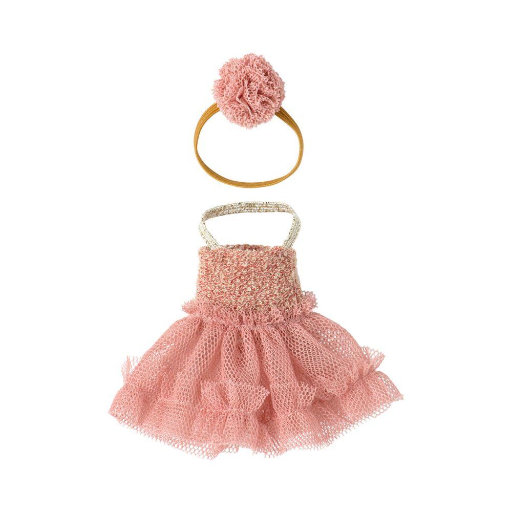 Maileg Tøj til storesøster kjole Mira Belle