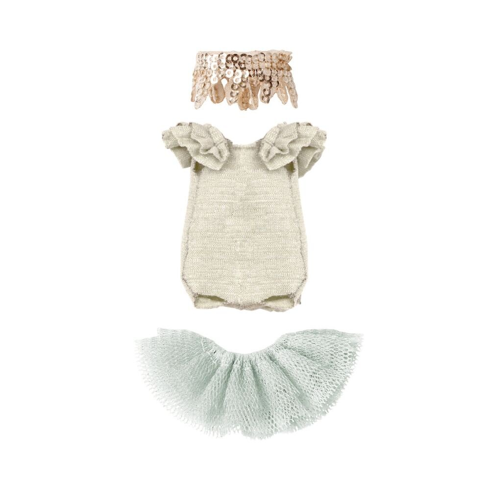 Maileg Tøj til storesøster kjole Swan Lake