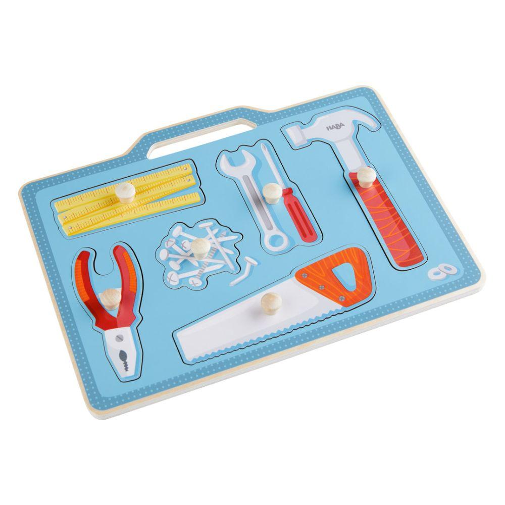 HABA Knoppusle med værktøj