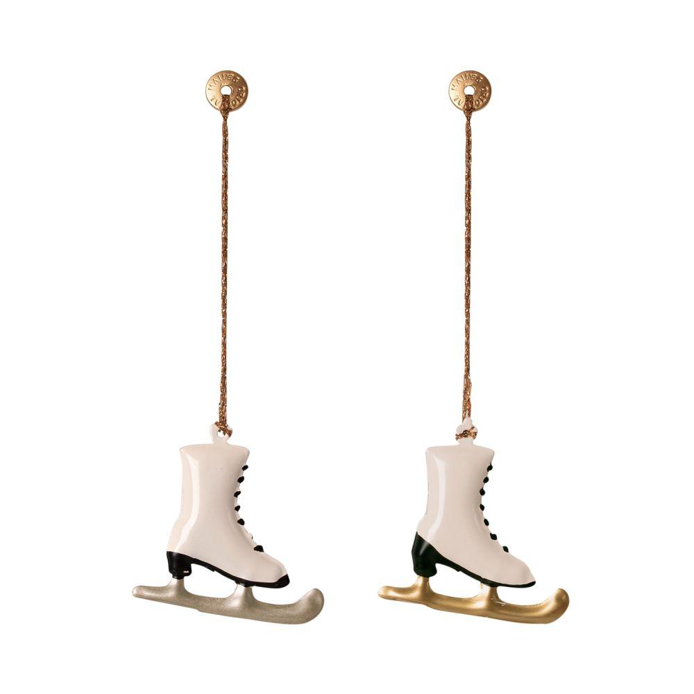 Maileg Juleophæng skøjter metal 2020