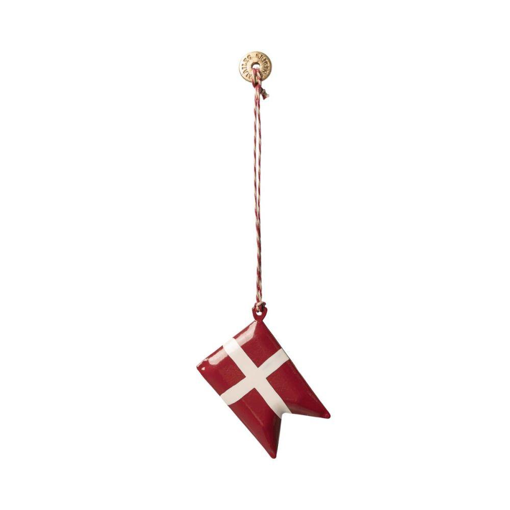 Maileg Juleophæng flag metal 2020