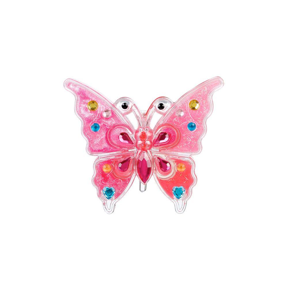 Lipgloss udformet som sommerfugl med 13 farver Olisan.dk