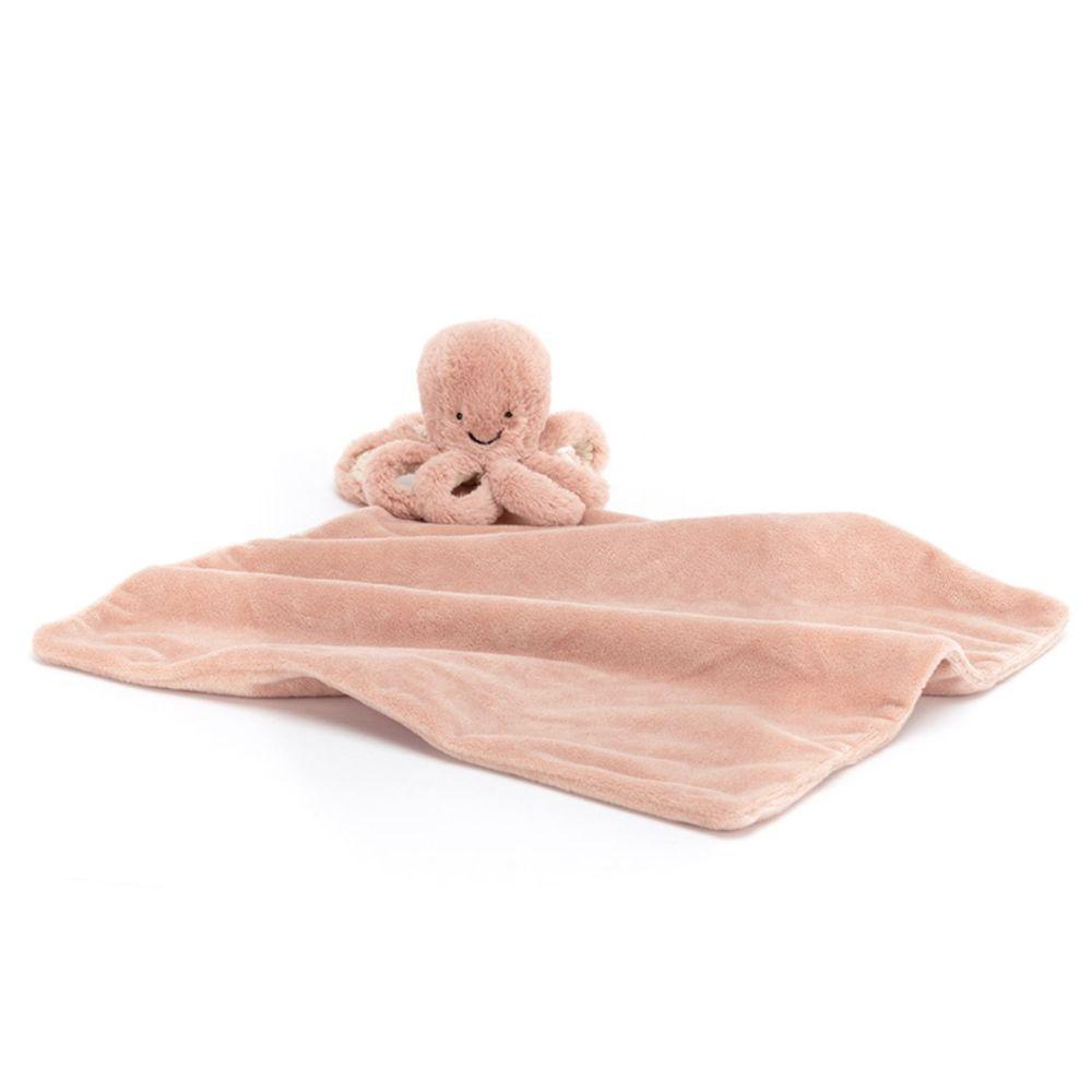 Jellycat nusseklud Odell blæksprutte