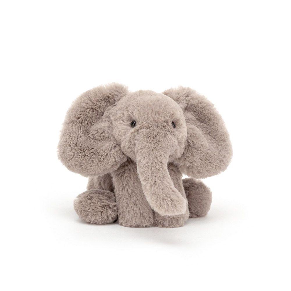 Jellycat mini Smudge elefant 19 cm
