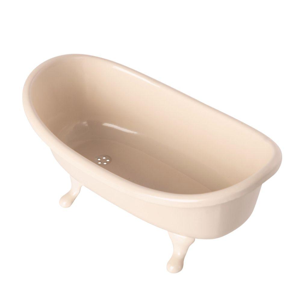 Maileg Miniature badekar i metal