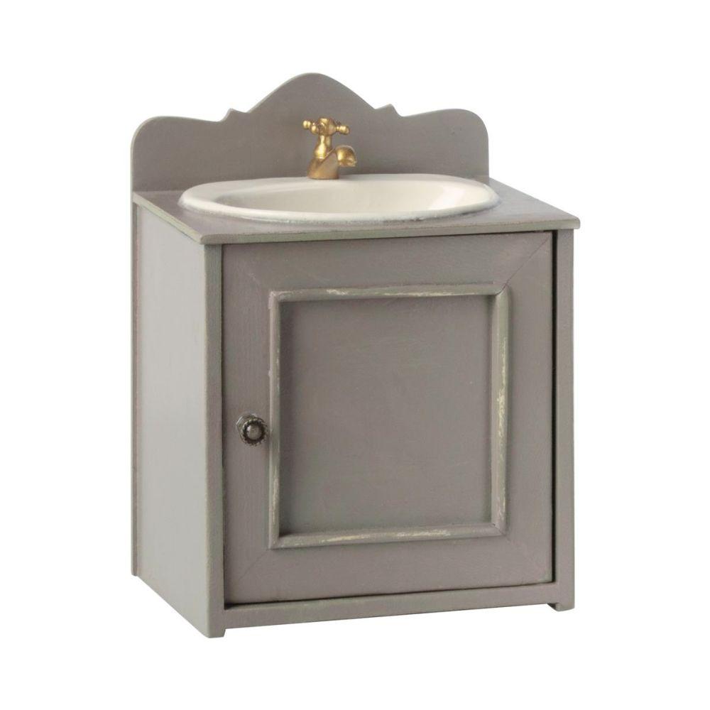 Maileg Miniature badeværelsesmøbel med vask
