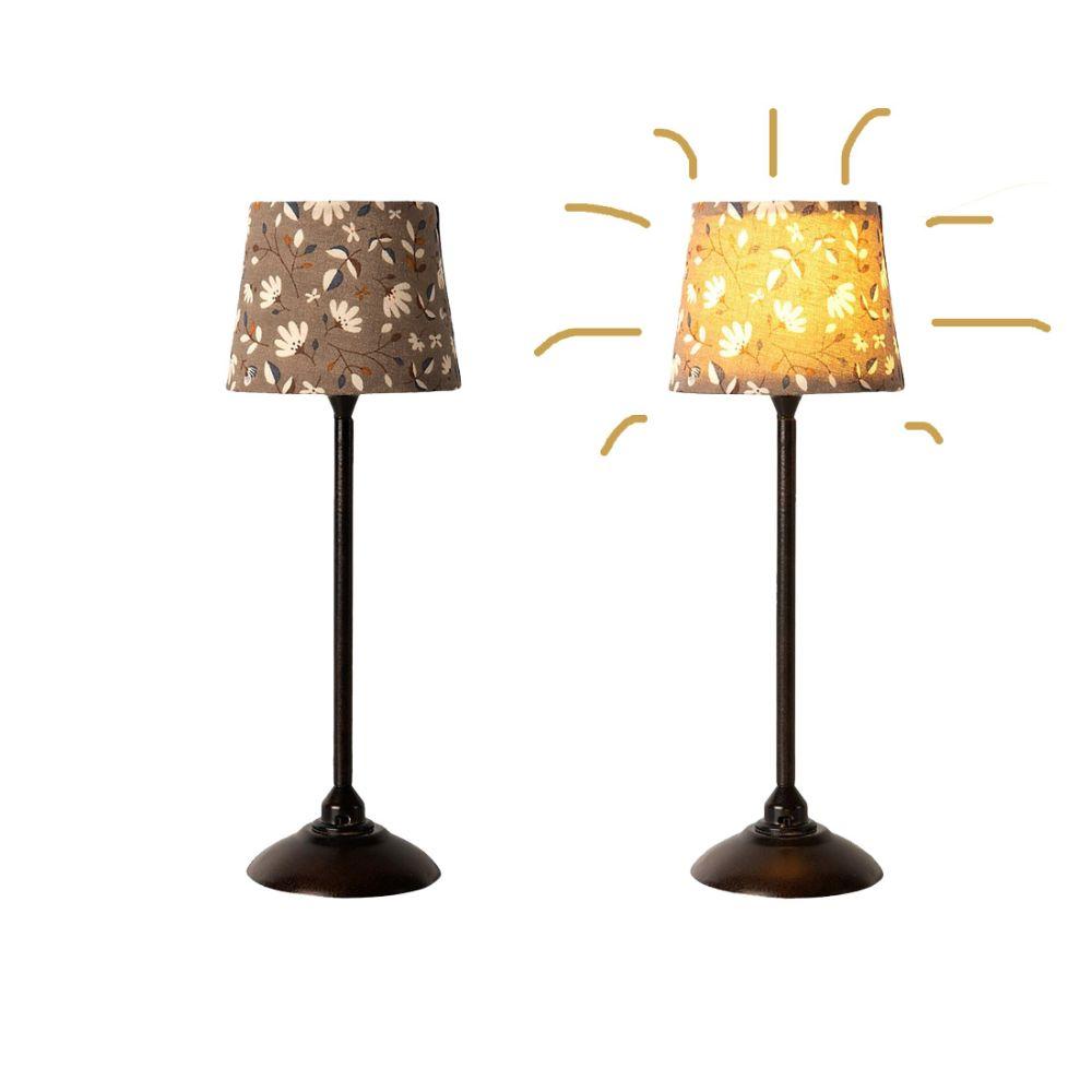 Maileg Miniature gulvlampe koks