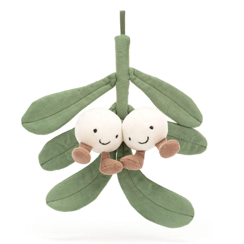 Jellycat Amuseable Mistelten bamse 22 cm