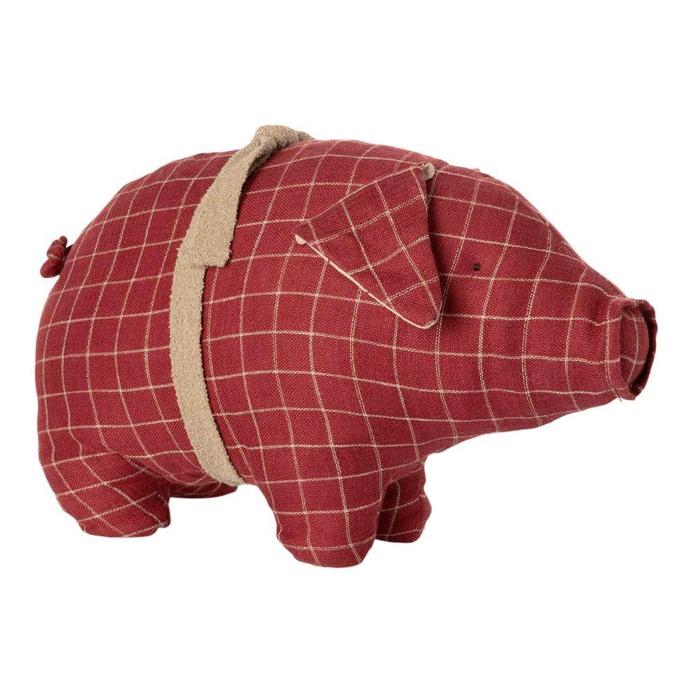 Maileg Ternet gris medium 2020 Rød